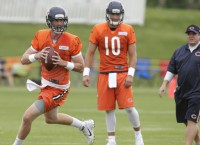 Glennon is undisputed No. 1 QB at Bears' camp