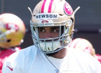 NFL Notes: 49ers' Newsom seriously hurt after collision