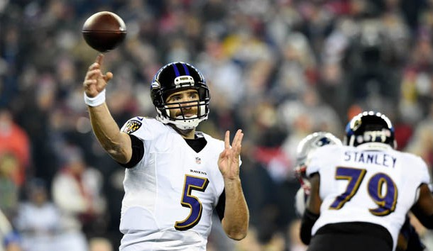 Ravens Announce Joe Flacco Won't Return To Game Action Until Regular Season