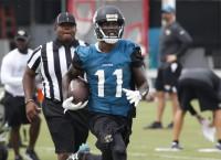 NFL Notebook: Jaguars WR Lee suffers knee injury