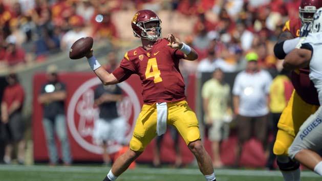 Pitt names former USC QB Browne as starter