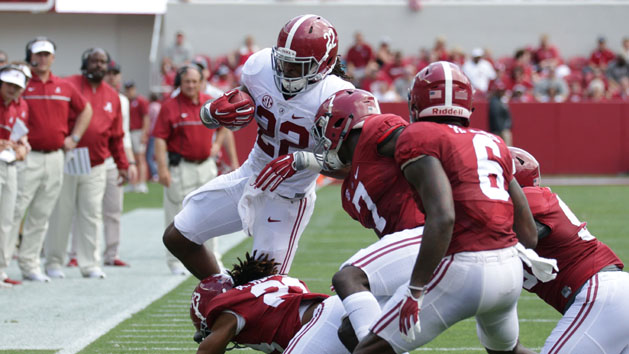 No. 1 Alabama to lean on talented backfield