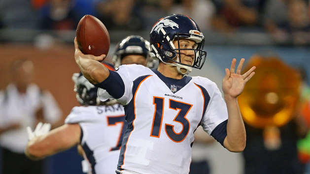 Broncos' Siemian wins starting QB battle