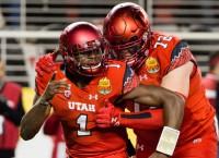Huntley named surprise starter at QB for Utah