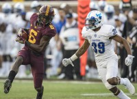 Minnesota tops Buffalo in Fleck's first game