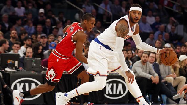 Knicks trade Anthony to Thunder