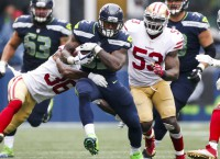 Rookie Carson emerging as Seahawks top RB