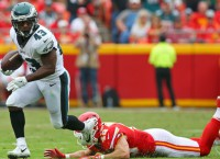 Crushing loss as Eagles' Sproles done for the year