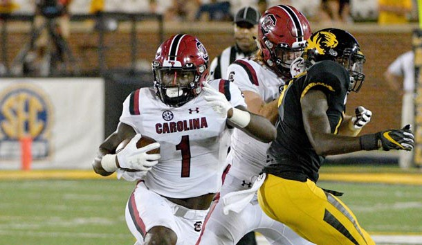 The loss of Deebo Samuel is a big blow to South Carolina's offense. Photo Credit: Denny Medley-USA TODAY Sports