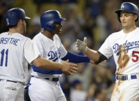 Dodgers clinch NL home-field advantage with win