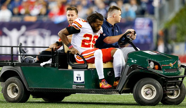 Eric Berry Out for 2017 With Ruptured Achilles