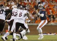 No. 13 Auburn runs over No. 24 Mississippi State