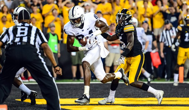 Saquon Barkley turned in an eye-catching performance in win over Iowa