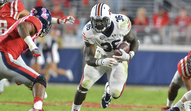 The return of Kam Pettway should be a big boost to Auburn's offense. Photo Credit: Matt Bush-USA TODAY Sports