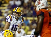 No. 25 LSU gets last non-conference test vs. Troy
