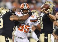Browns rookie DE Garrett returns to practice