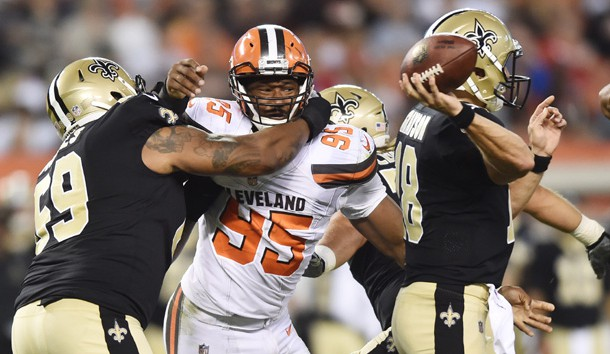 Myles Garrett returns to Cleveland Browns practice