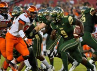 No. 21 USF starts conference play against Temple