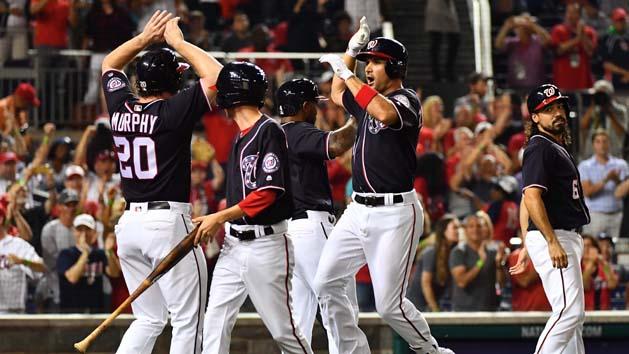 Zimmerman's 2 HRs propel Nationals past Dodgers