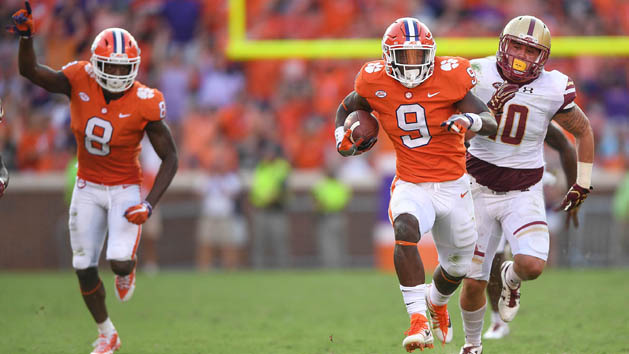 Six Suitors Trail Clemson in Atlantic Division