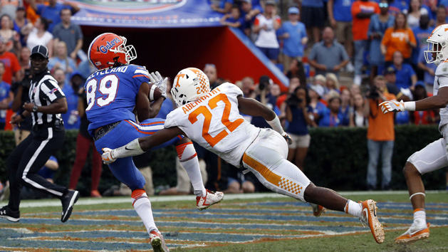 Florida's Cleveland earns Catch of the Week