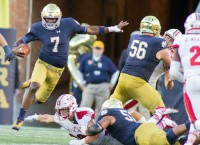 FBS Notes: Irish's Kelly names Wimbush the starter