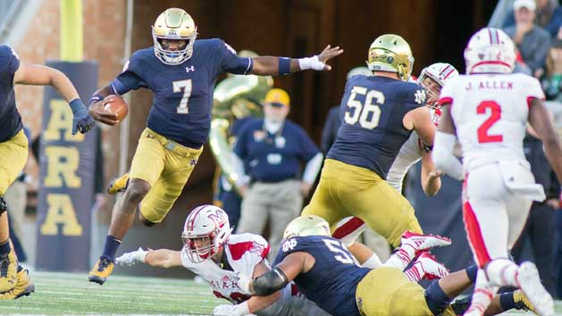 Stakes high for No. 11 USC, No. 13 Notre Dame