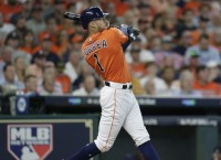 Correa slugs Astros to rout of Red Sox in Game 2