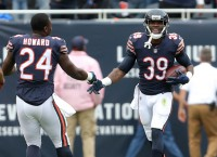 Jackson's defensive TDs lead Bears past Panthers