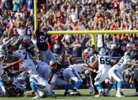 NFL Recaps: Panthers stun Pats on last-second FG