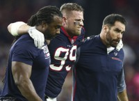 Texans' Watt sees another season cut short