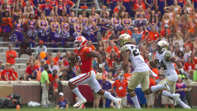 Clemson being cautious with Bryant after concussion