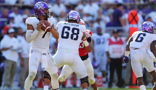 West Virginia Mountaineers at TCU Horned Frogs