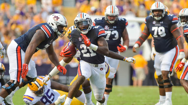No. 21 Auburn runs into vulnerable Arkansas' defense