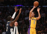 NBA Notes: Lakers' Ball likely out for rest of preseason