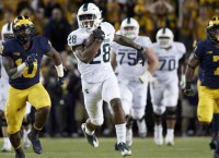 Michigan State upsets No. 7 Michigan