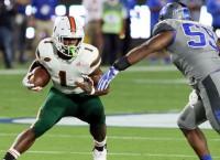 No. 11 Miami begins life without Walton vs. Ga. Tech