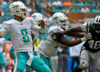 Backup QB Moore rallies Dolphins past Jets