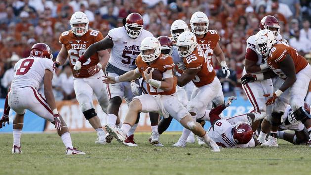 QB Ehlinger taking control of Texas offense