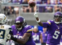Vikings QB Bridgewater cleared to practice