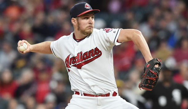 Kluber will not start game one for Indians