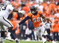 Broncos LB Miller undergoes ankle surgery