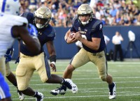 High-powered offenses meet in Navy-Memphis tilt