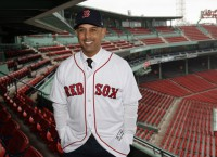 Cora introduced as Red Sox manager