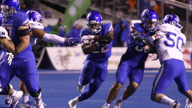 Boise St. routs Air Force for seventh straight W
