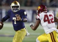 Notre Dame QB Wimbush aims to improve passing