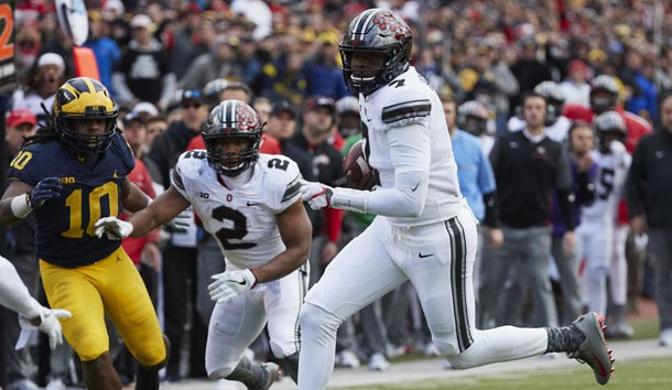 No. 8 Ohio State loses JT Barrett in 3rd quarter at MI