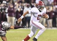 No. 2 Alabama escapes Mississippi State upset bid