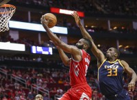 Harden nets career-high 56 as Rockets rout Jazz