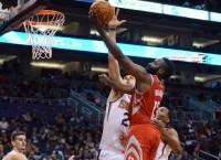 Rockets use 90-point half, Harden's 48 to beat Suns
